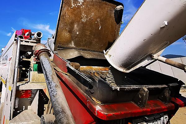 čerstvý betón, betonáž